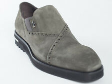 New  Cesare Paciotti  Khaki Suede Shoes UK 7 US 8 Retail $ $675