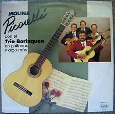 Molina Picorelli Trio Borinque En Guitarras Y Algo Mas Bolero LATINO Puerto Rico