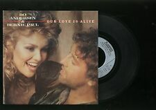 """45 tours - Bo andersen et bernie paul -/ """" our love is alive  """" vogue"""