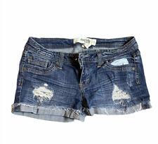 Charlotte Russe Denim Jean Short Shorts Size 2