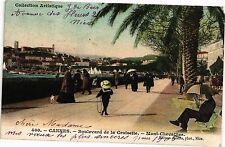 CPA  Cannes - Boulevard de la Croisette - Mont Chevallier    (203824)