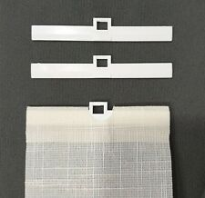 Lamellenhalter 89 bzw 127 zum Kürzen Lamellenvorhang/Vertikaljalousie Rollo weiß
