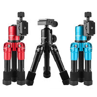 Foldable Table top Mini Camera Tripod Travel Selfie Compact for DSLR Camera