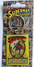 DC COMICS Metal Keyring - Classic Superman - The Complete Story