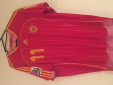 SPAIN CAPEL UNDER 20 WORLD CUP 2007 MATCH WORN SHIRT