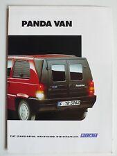 Prospetto FIAT PANDA Van, 2.1996, 4 pagine con indicazioni di prezzo