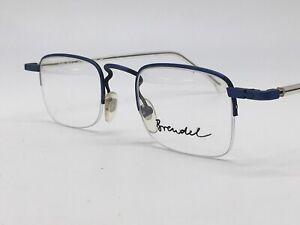 Brendel True Vintage 1980er 4553 Small Glasses Square Super Classic 44-21 Medium