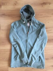 Ladies Fat Face green hoodie size 8 , full length zip, stylish