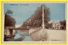 cpa 71 - GÉNELARD La TRANCHÉE Café COGNARD FORGE CLEMENGIN Empire Oil
