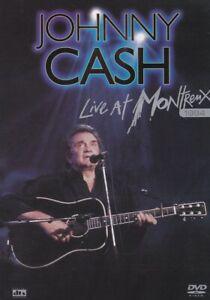 JOHNNY CASH - LIVE at MONTREUX Jazz Festival 1994 - Music DVD NEW SEALED