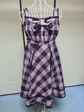 Pink Tartan Plaid Dress JSK BTSSB Baby Lolita VG