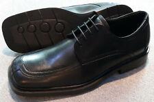 Kenneth Cole Men's Moc Toe Lace Oxford Dress Casual Shoe (Black)