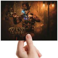 "Magician Inventor Steam Punk Small Photograph 6""x4"" Art Print Photo Gift #14534"