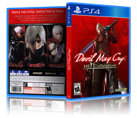 Devil May Cry: HD Collection - ReplacementPS4 Cover and Case. NO GAME!!