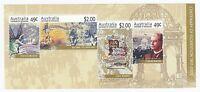 AUSTRALIA POST 2001 STAMP MINI SHEET 'CENTENARY OF FEDERATION' - MINT MNH