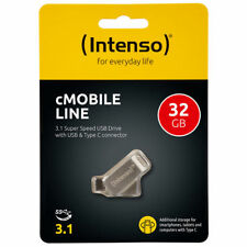Intenso USB Stick 32GB Speicherstick cMobile Line Typ C USB 3.1 mit USB 3.0 OVP