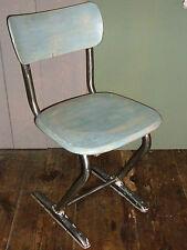 4Stühle chaise à accoudoir Loft Meubles de fauteuil noix Table Tabouret