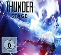 Thunder - Stage (2CD + BluRay) [CD]