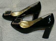 NEXT Black Patent Shoes size 38 / 5 uk