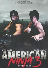 AMERICAN NINJA 3: BLOOD HUNT - DVD - Region 1 - Sealed