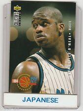 Shaquille O'Neal Orlando Magic Japanese Basketball Card