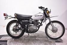 1972 Honda XL250 Motosport Unregistered US Import Classic Restoration Project