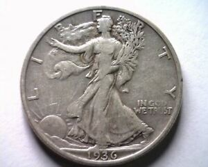 1936-S WALKING LIBERTY HALF VERY FINE /EXTRA FINE VF/XF VERY FINE/EXTREMELY FINE