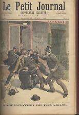 LE PETIT JOURNAL- ANNÉE COMPLÈTE 1892  & 9 n° de 1891- RELIURE T. Beau