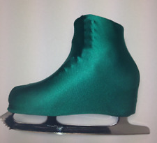 Jade Green Lycra Ice Skate, Roller skate boot covers