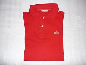 Lacoste maglietta polo  taglia 5