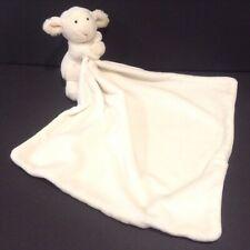 Jellycat Lamb Security Blanket Lovey Cream White Plush Sheep