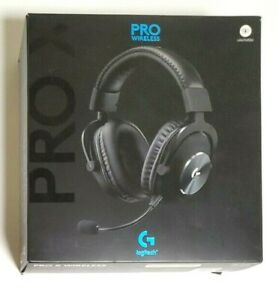 Genuine Logitech G PRO X Black Over-Ear Headset (No Dongle)