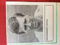 m2M ephemera 1966 football picture tom mcanearney aldershot