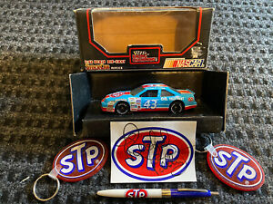 Richard Petty Cars and Autographed STP Sticker!