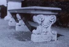 Seat/Bench, Gardens of Palace of Versailles, France, Magic Lantern Glass Slide