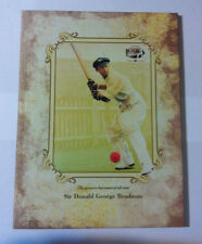 2008 $5 SIR DONALD BRADMAN STAMP & COIN FOLDER RARE