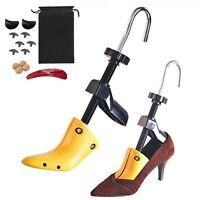 High Heel Shoe Stretcher 1 Pair Womens Width Ladies Plastic Trees Adjustable UK