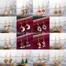 Fashion Jewelry Christmas Earrings Xmas Women Drop Dangle Earrings New Year Gift