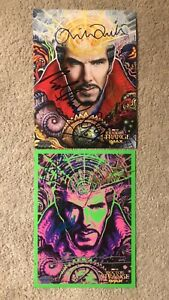 Doctor Strange: 2 Pieces LIMITED Signed Movie Poster Autograph 285X273MM StanLee