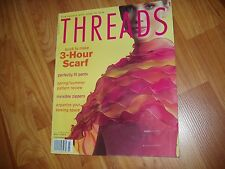 THREADS July  2005 # 119 MAGAZINE sewing back issue