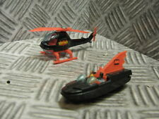 Corgi Jr. Husky Batman Hot Wheels Batcopter Helicopter & Batboat diecast