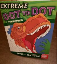 MindWare Extreme Dot To Dot Paperback New Topic: PREHISTORIC Up to 1,600 dots