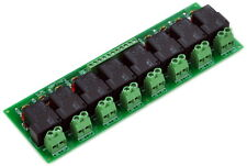 8 Channel SPST-NO 30Amp Power Relay Module Board, 12V Version, 30A. x1