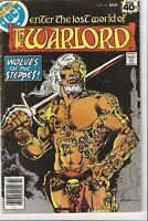 The Warlord #-19- bronze age( 1979 DC )- Mike Grell--No Reserve! Vintage Comic
