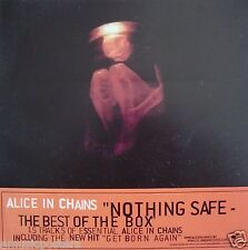 """ALICE IN CHAINS """"NOTHING SAFE"""" U.S. PROMO VINYL WINDOW STICKER FROM 1999"""