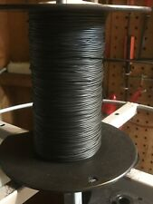 Super Flex Black SW24  by wire plex 24 AWG Lionel, American Flyer & Marx