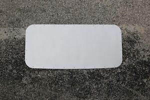 LRB Speed Aluminum Sunroof Delete Panel - Fits: 94-98 Saab 900 READ DESCRIPTION