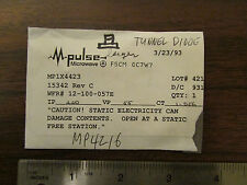 M-Pulse Microwave Large Tunnel Diode MP1X4423 NOS