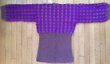 Sale!! MISSONI 100% Cashmere sweater Medium 42 funnel bodice LUXE orange label
