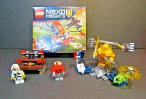 Lego Nexo Knights & Ninjago Bundle Set With Instruction & 1 Sealed Box